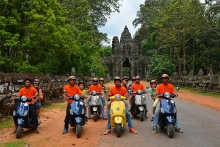 Cambodia Vespa Adventures
