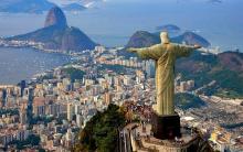 Christus de Verlosser, uitkijkend over de stad Rio de Janeiro
