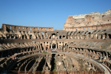 Binnenkant van het Colosseum