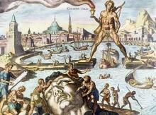 16e-eeuwse gravure door de Nederlandse kunstschilder Maarten van Heemskerck