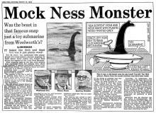 Artikel uit 'The Daily Mail' (14 maart 1994)