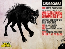 Chupacabra in 'Red Dead Redemption: Undead Nightmare'